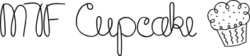 Preview image for MTF Cupcake Font