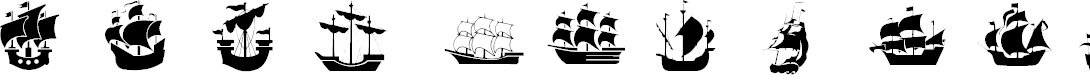 Preview image for Ships Font