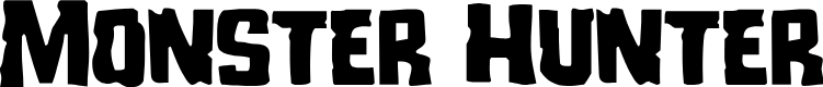 Preview image for Monster Hunter Font