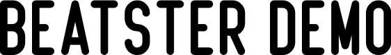 Preview image for Beatster Demo Font