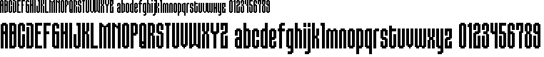 Preview image for BM gaudi A22 Font