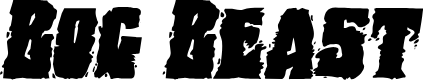 Preview image for Bog Beast Expanded Italic