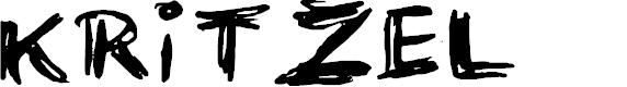 Preview image for KRITZEL Font