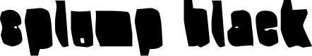 Preview image for Splump Black Font