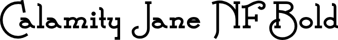 Preview image for Calamity Jane NF Bold