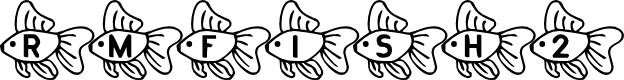 Preview image for RMFish2 Font