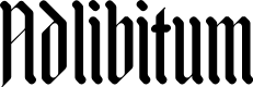 Preview image for Adlibitum Font