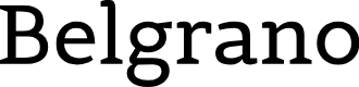 Preview image for Belgrano Font