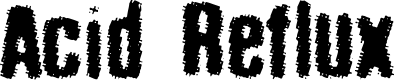 Preview image for acid_reflux Font