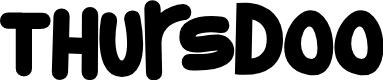 Preview image for Thursdoo Font