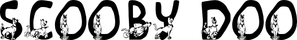 Preview image for LMS Scooby Doo Font