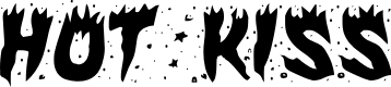 Preview image for Hot Kiss Font