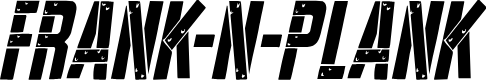 Preview image for Frank-n-Plank Condensed Italic