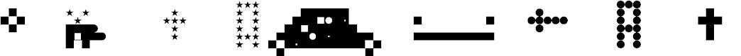 Preview image for Block Shape Regular Font