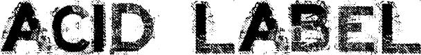 Preview image for ACID LABEL___ Font