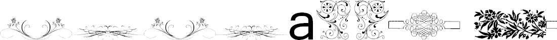 Preview image for Vintage Decorative Signs 20 Font