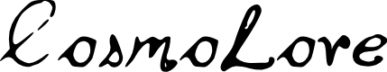 Preview image for Cosmo_Love Font