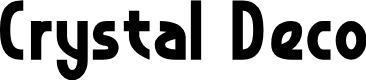 Preview image for Crystal Deco Font