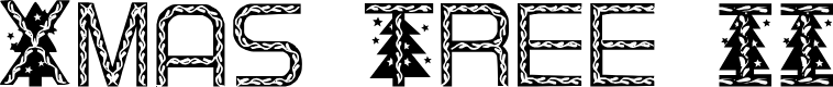 Preview image for XmasTree II Font