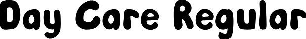 Preview image for Day Care Regular Font