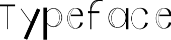 Preview image for Typeface Font