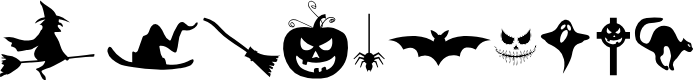 Preview image for FREAKY HALLOWEEN Font