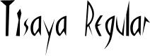 Preview image for Tisaya Regular