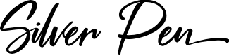 Preview image for Silver Pen Font