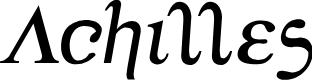 Preview image for Achilles Semi-Italic