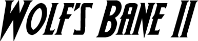 Preview image for Wolf's Bane II Italic