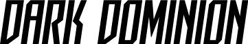 Dark Dominion Semi-Italic