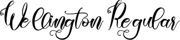Preview image for Wellington Regular Font