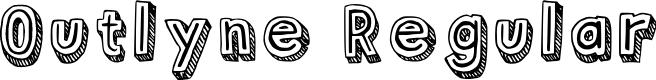 Preview image for Outlyne Regular Font