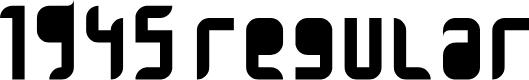 Preview image for 1945 Regular Font