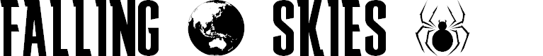 Preview image for FALLING SKIES Font