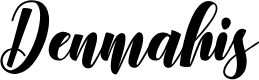 Preview image for Denmahis Font