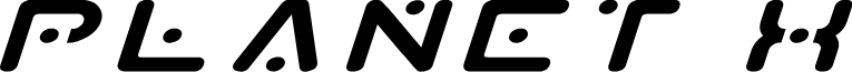 Planet X Expanded Italic