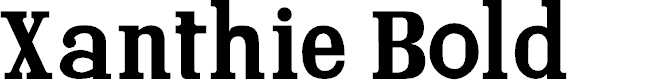 Preview image for Xanthie Bold Font