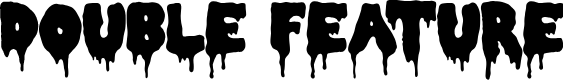 Preview image for Double Feature Font