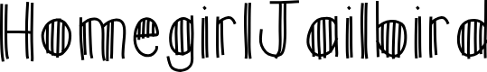 Preview image for HomegirlJailbird Font