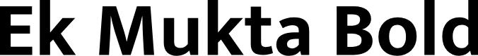 Preview image for Ek Mukta Bold Font