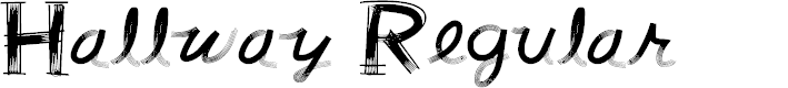 Preview image for Hallway Regular Font