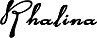Preview image for Rhalina Bold Expanded Italic