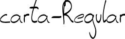 Preview image for carta-Regular Font