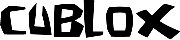 Preview image for Cublox Font