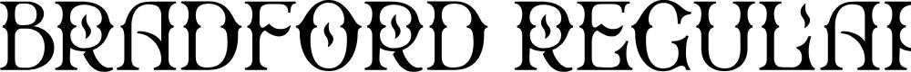 Preview image for Bradford Regular Font