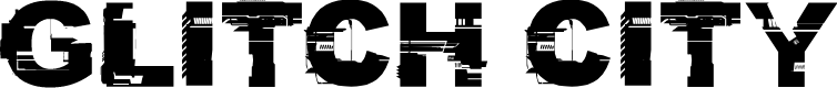 Preview image for CF Glitch City Regular Font