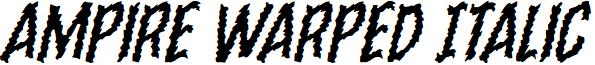 Ampire Warped Italic
