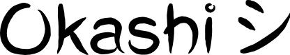 Preview image for Okashi^ Regular Font