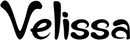 Preview image for Velissa Font